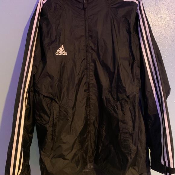 Adidas Warm Up / Zip Up Light Windbreaker Jacket L